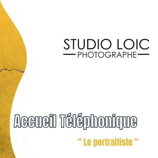 Accueil téléphonique pour studio Photo